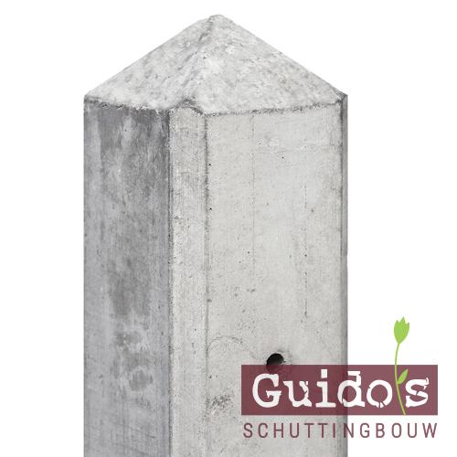 Grijs beton schuttingen
